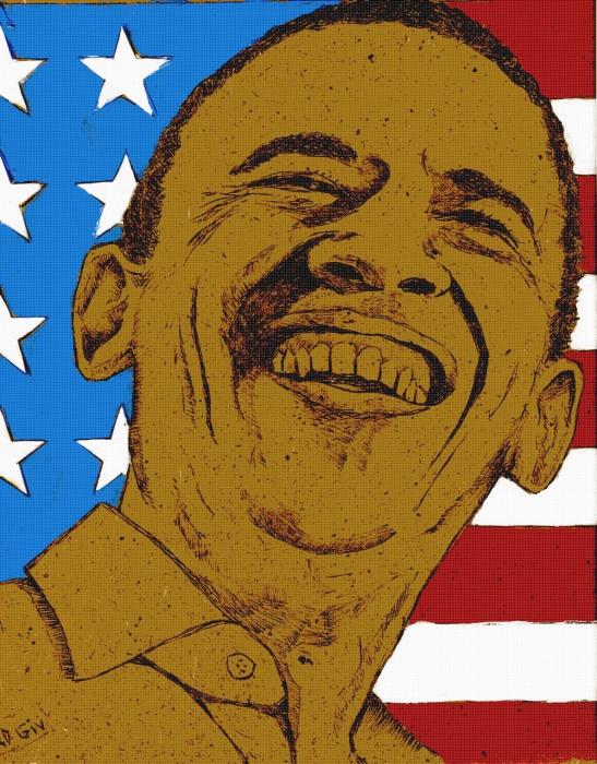 Barack Obama by didgiv